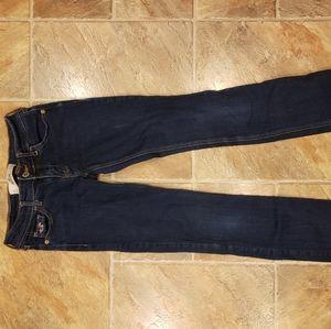 Hollister skinny straight leg jeans